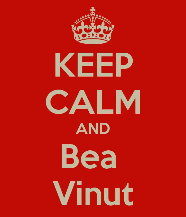 KEEP CALM AND Bea  Vinut