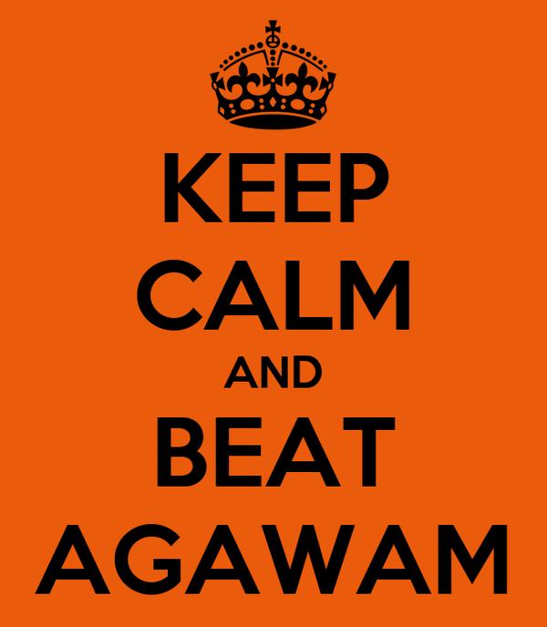 KEEP CALM AND BEAT AGAWAM