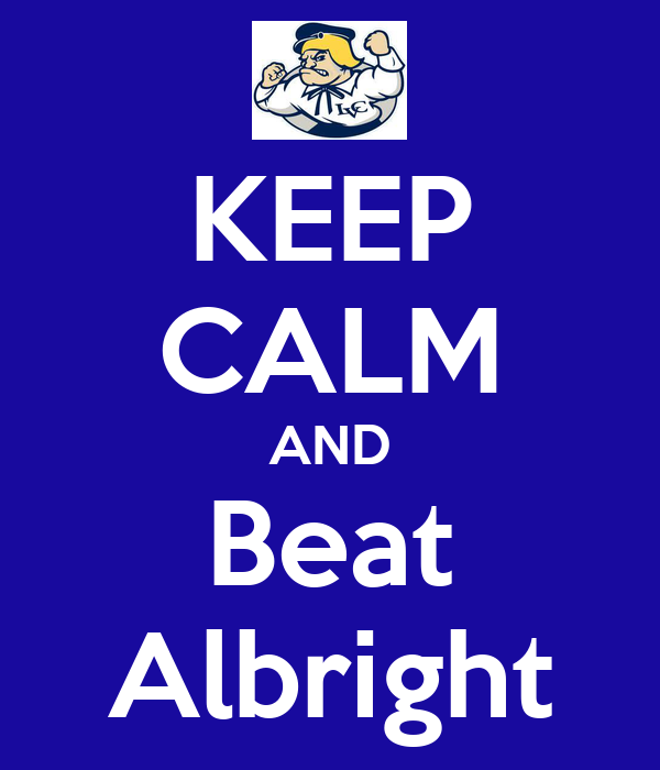 KEEP CALM AND Beat Albright