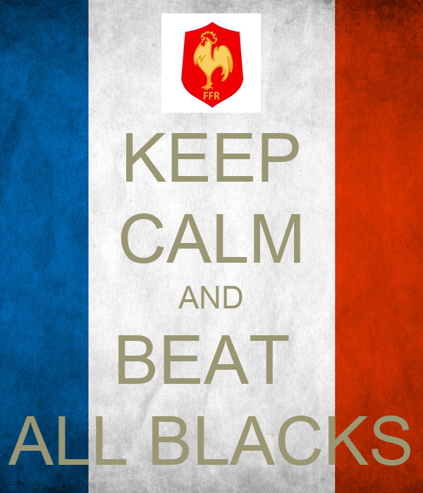 KEEP CALM AND BEAT  ALL BLACKS