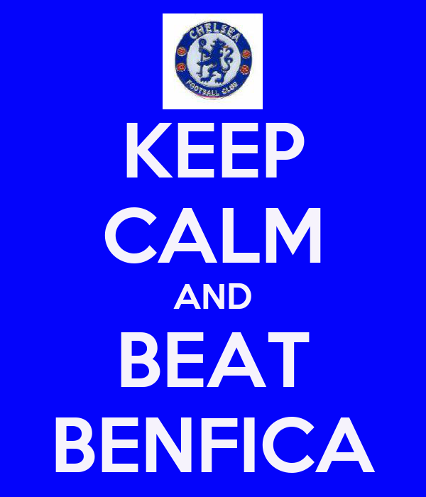 KEEP CALM AND BEAT BENFICA