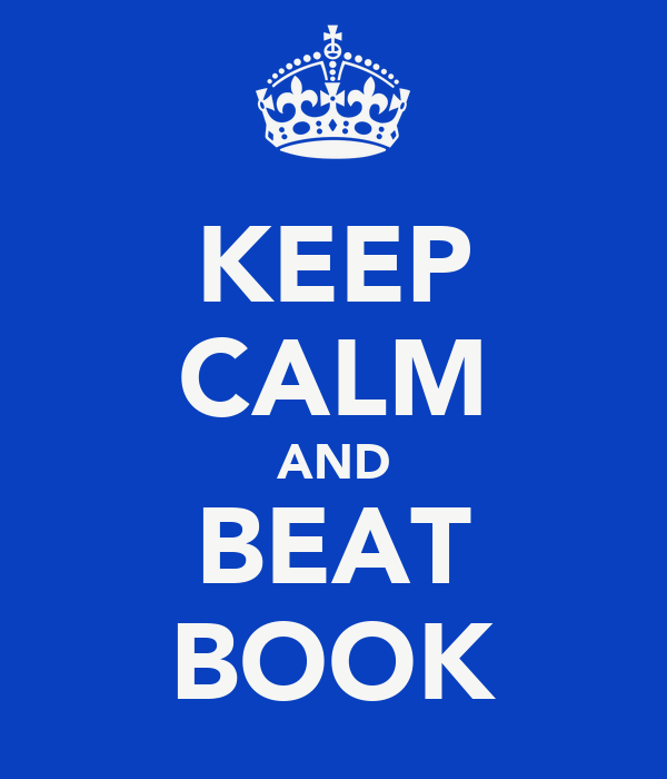 KEEP CALM AND BEAT BOOK