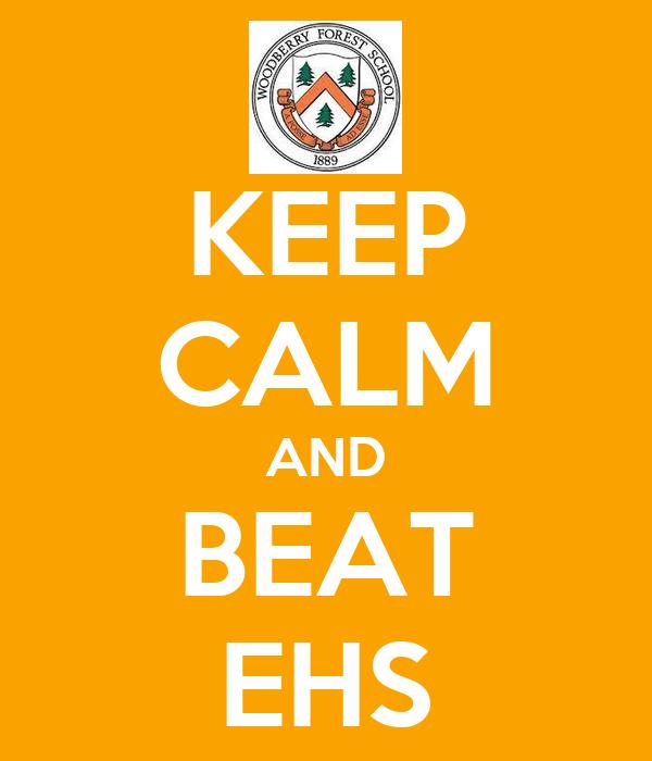 KEEP CALM AND BEAT EHS