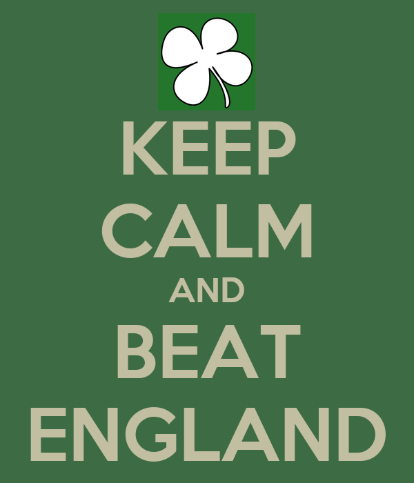 KEEP CALM AND BEAT ENGLAND