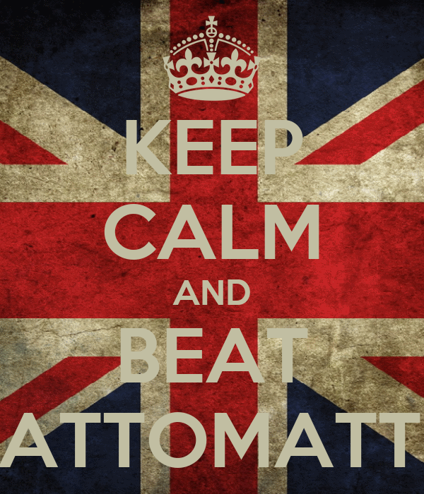 KEEP CALM AND BEAT GATTOMATTO