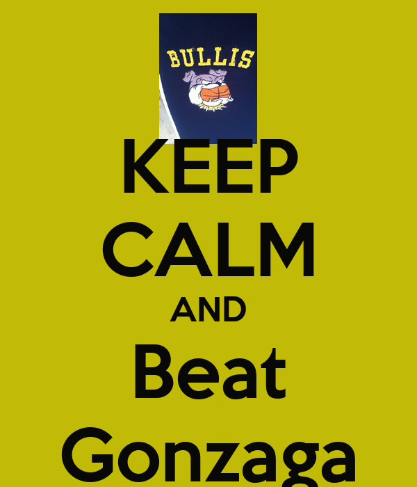 KEEP CALM AND Beat Gonzaga