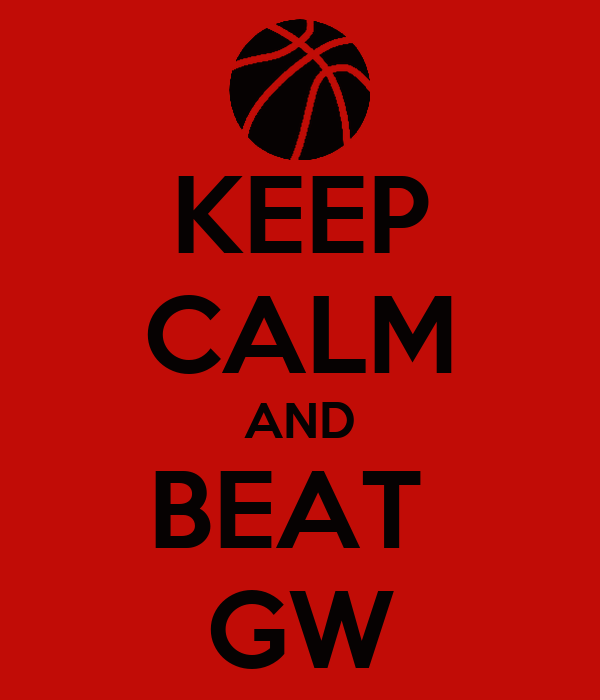 KEEP CALM AND BEAT  GW