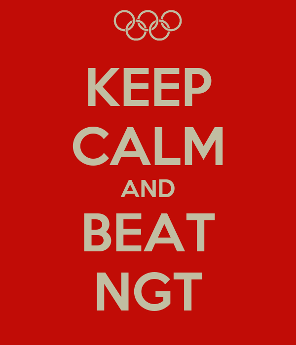 KEEP CALM AND BEAT NGT