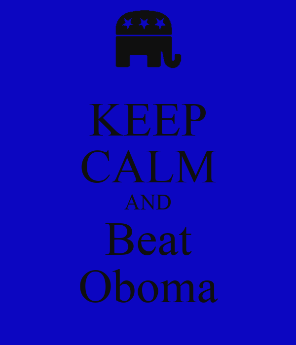KEEP CALM AND Beat Oboma