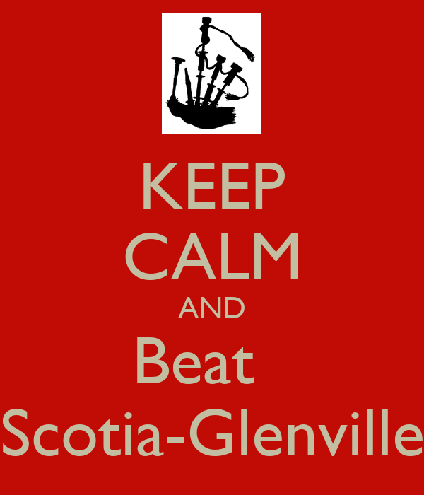 KEEP CALM AND Beat    Scotia-Glenville
