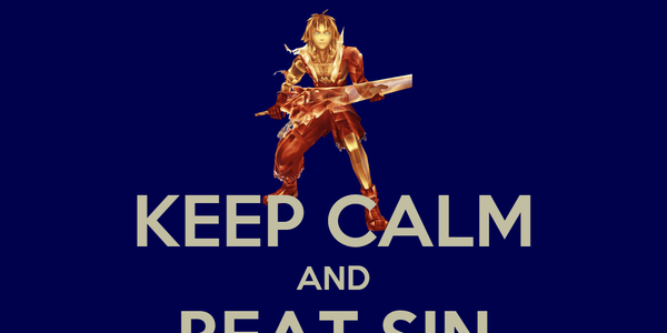 KEEP CALM AND BEAT SIN