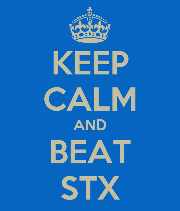 KEEP CALM AND BEAT STX