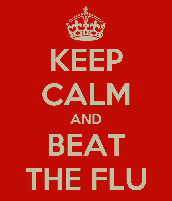 KEEP CALM AND BEAT THE FLU