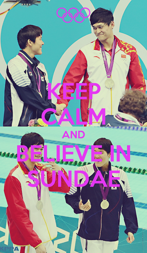 KEEP CALM AND BELIEVE IN SUNDAE