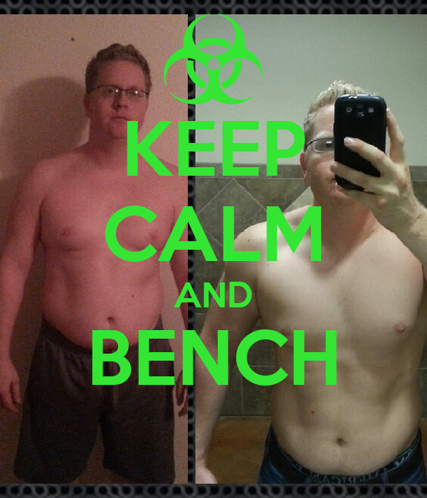 KEEP CALM AND BENCH
