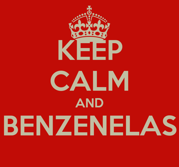 KEEP CALM AND BENZENELAS