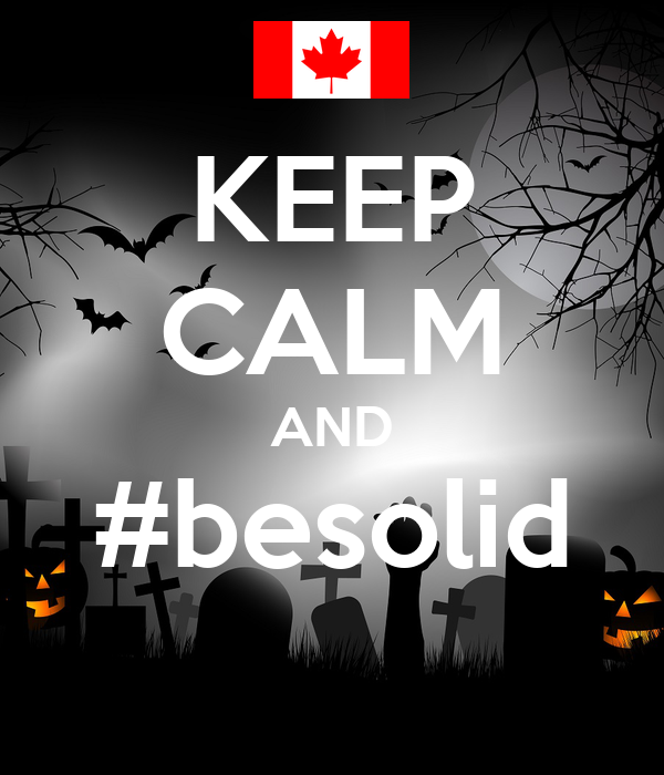 KEEP CALM AND #besolid