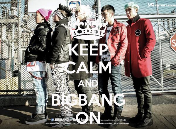KEEP CALM AND BIGBANG ON