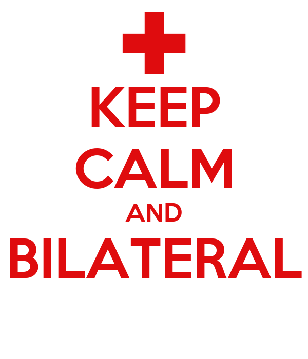 KEEP CALM AND BILATERAL