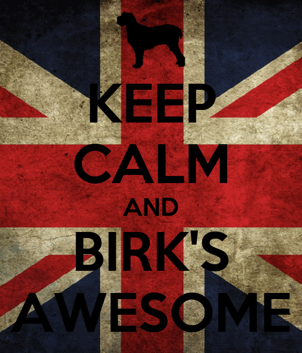 KEEP CALM AND BIRK'S AWESOME