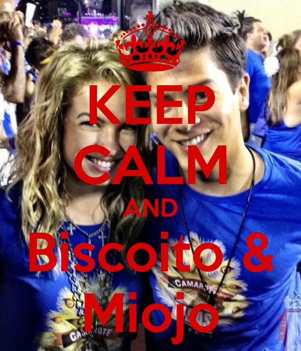 KEEP CALM AND Biscoito & Miojo