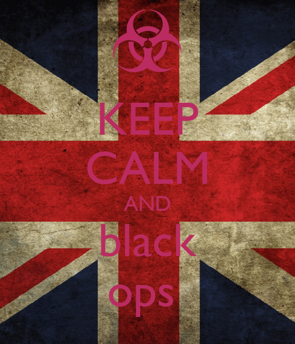 KEEP CALM AND black ops