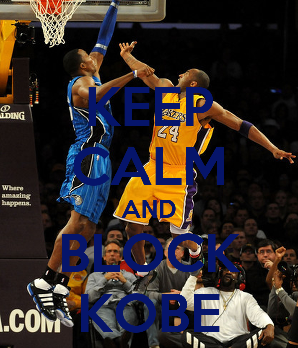 KEEP CALM AND BLOCK KOBE
