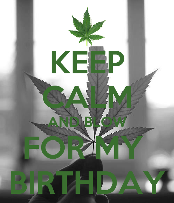 KEEP CALM AND BLOW FOR MY  BIRTHDAY