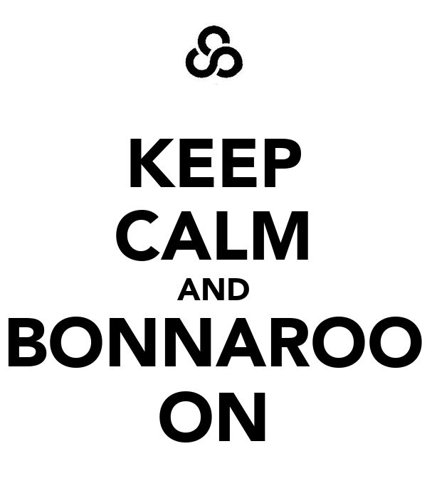 KEEP CALM AND BONNAROO ON