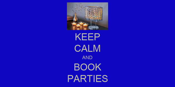 KEEP CALM AND BOOK PARTIES