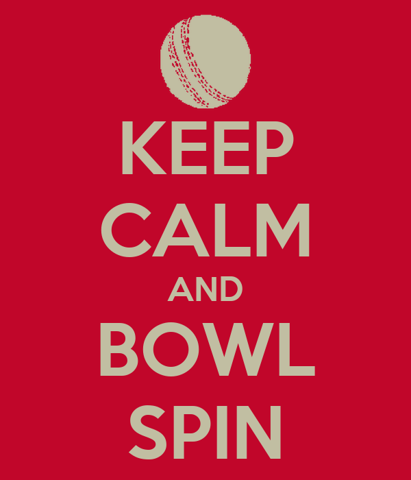 KEEP CALM AND BOWL SPIN