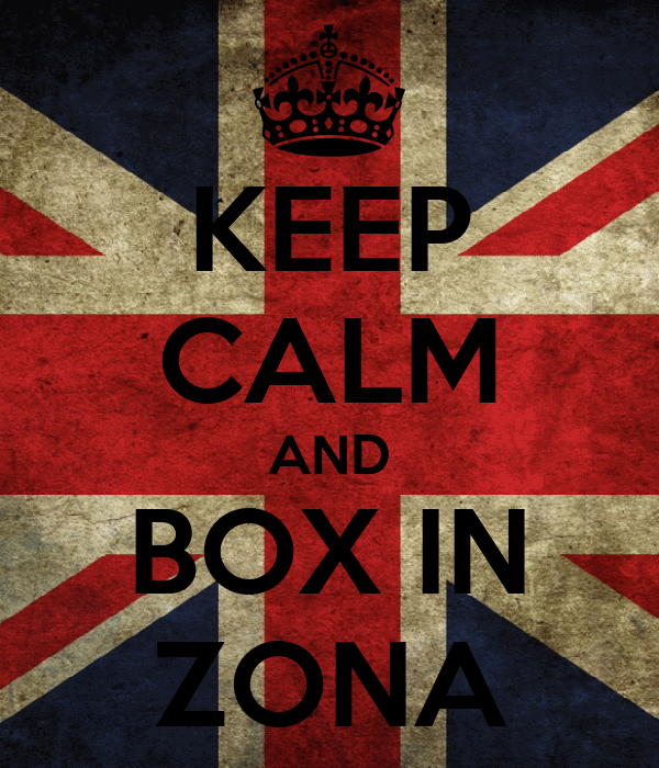 KEEP CALM AND BOX IN ZONA
