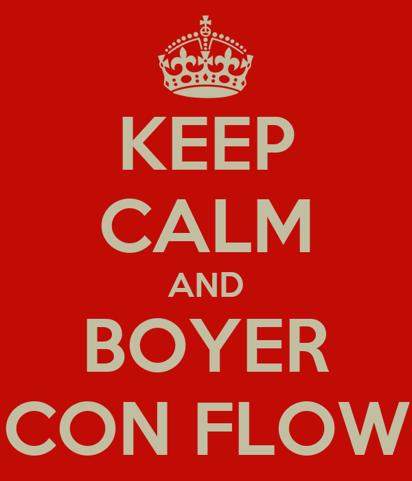 KEEP CALM AND BOYER CON FLOW