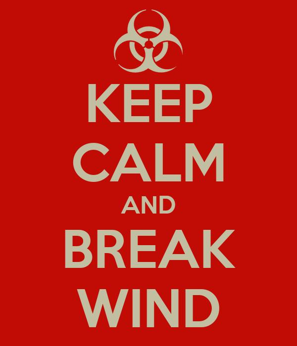 KEEP CALM AND BREAK WIND