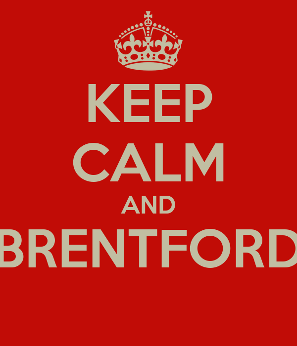 KEEP CALM AND BRENTFORD