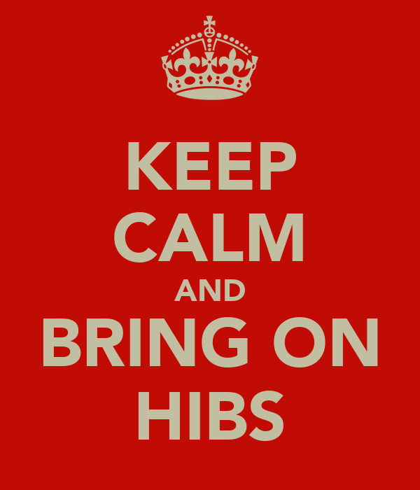 KEEP CALM AND BRING ON HIBS