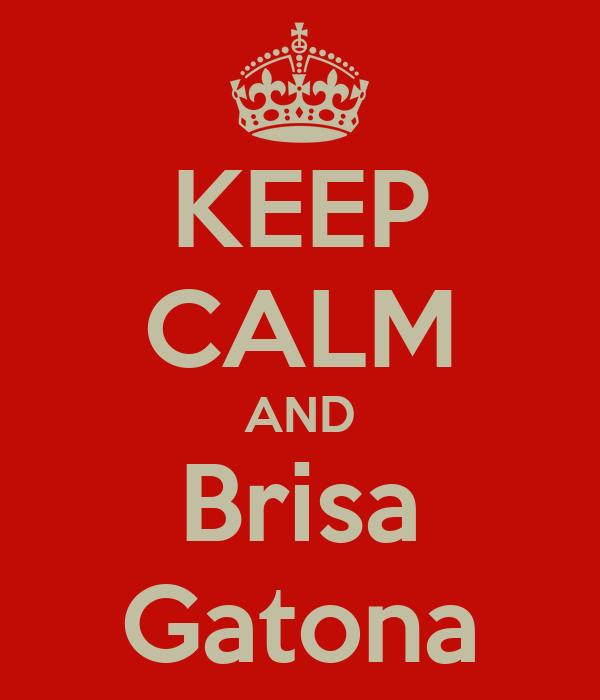 KEEP CALM AND Brisa Gatona