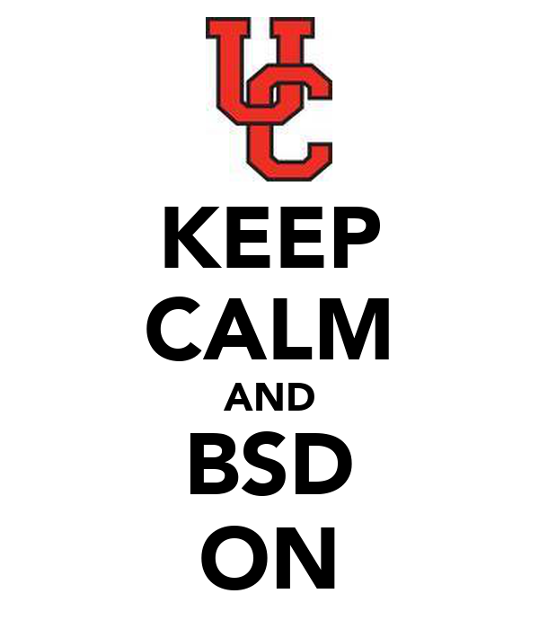 KEEP CALM AND BSD ON