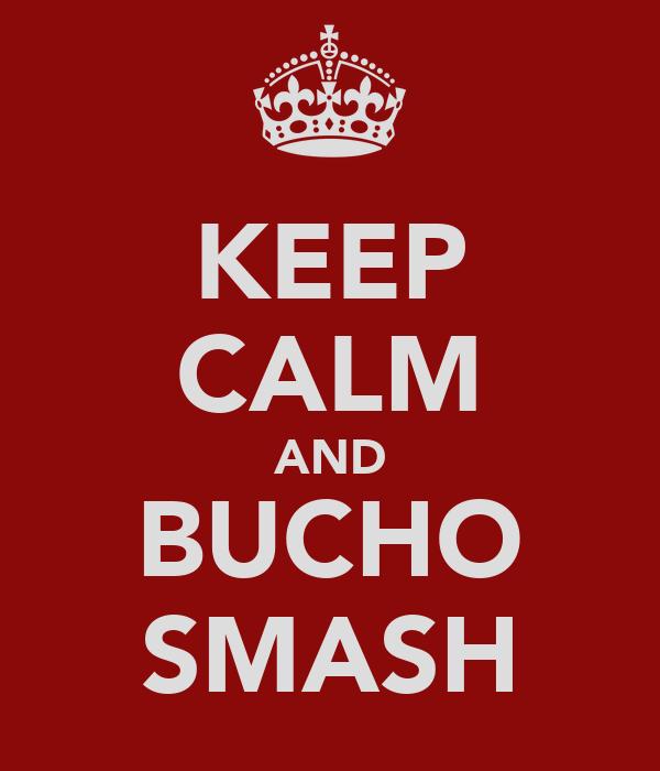 KEEP CALM AND BUCHO SMASH