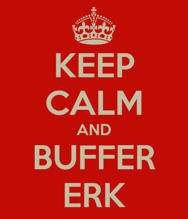 KEEP CALM AND BUFFER ERK