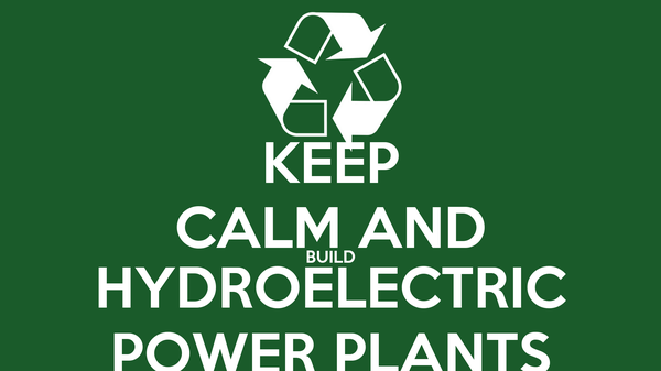 how to build a hydroelectric power plant