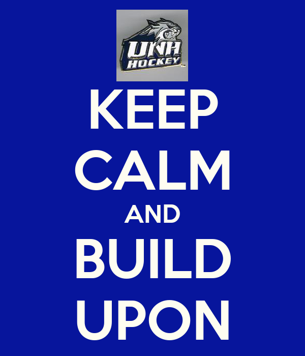 KEEP CALM AND BUILD UPON