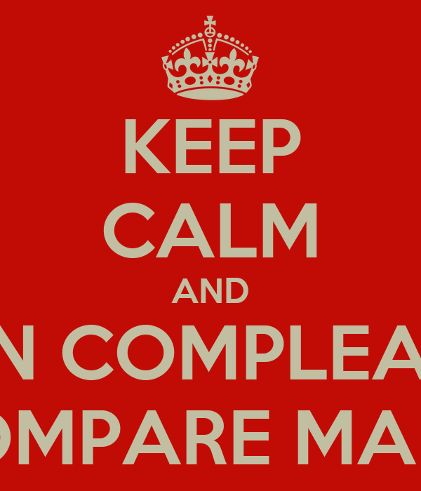 KEEP CALM AND BUON COMPLEANNO  COMPARE MARIO