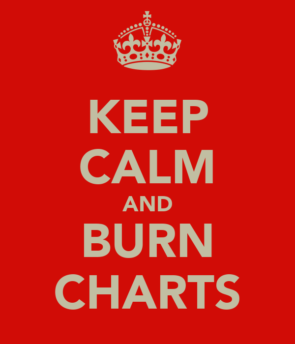KEEP CALM AND BURN CHARTS