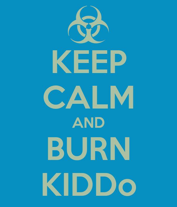 KEEP CALM AND BURN KIDDo