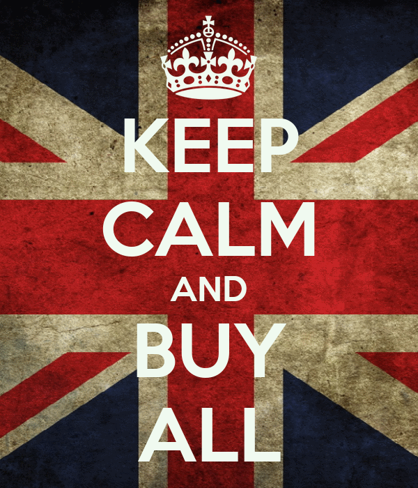 KEEP CALM AND BUY ALL