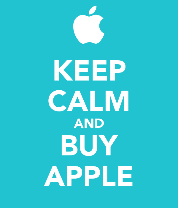 KEEP CALM AND BUY APPLE Poster | KEVIN