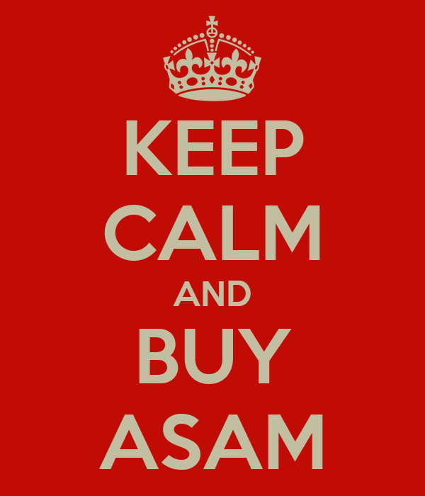 KEEP CALM AND BUY ASAM