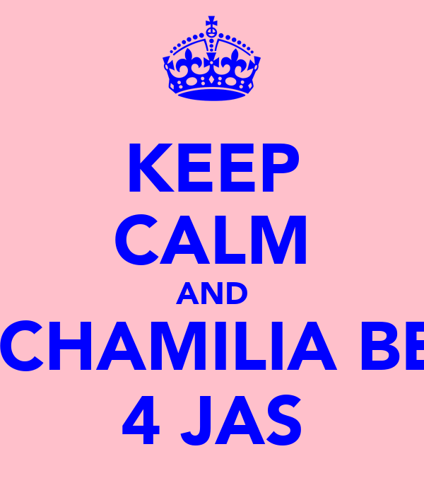 KEEP CALM AND BUY CHAMILIA BEADS 4 JAS
