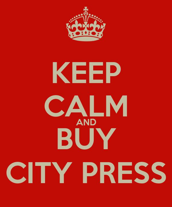 KEEP CALM AND BUY CITY PRESS